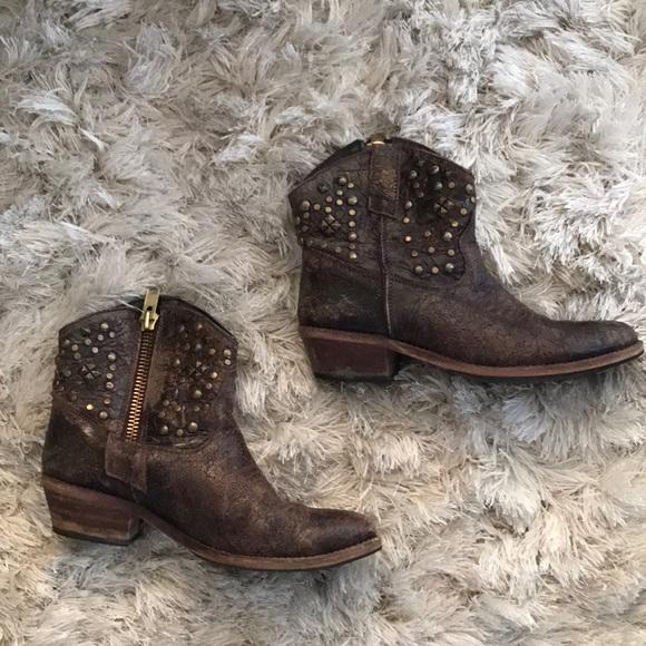 Steve Madden Cowboy Ankle Boots
